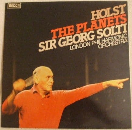 SET 628 Holst THE PLANETS Vinyl LP Solti LPO
