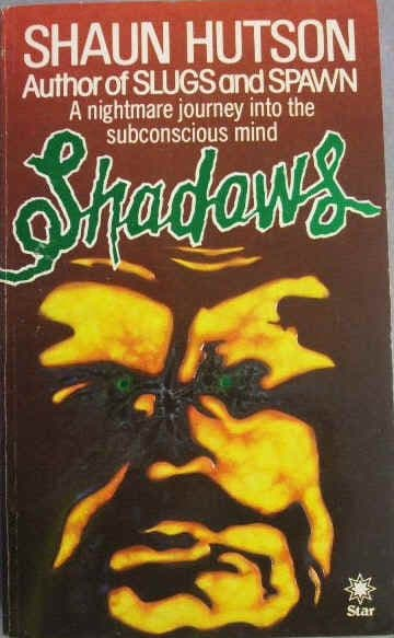 Shaun Hutson SHADOWS Signed First Edition Paperback
