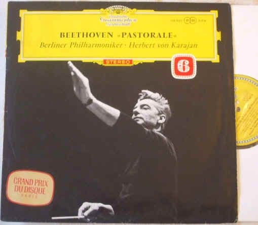 SLPM 138805 Beethoven SYMPHONY 6 PASTORAL Red Stereo Tulips