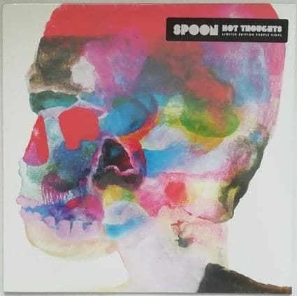 Spoon HOT THOUGHTS Limited Edition Purple Vinyl LP Sealed