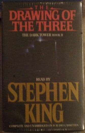 Stephen King THE DRAWING OF THE THREE Sealed Audiobook