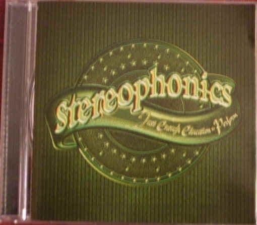 Stereophonics Just Enough Education To Perform CD