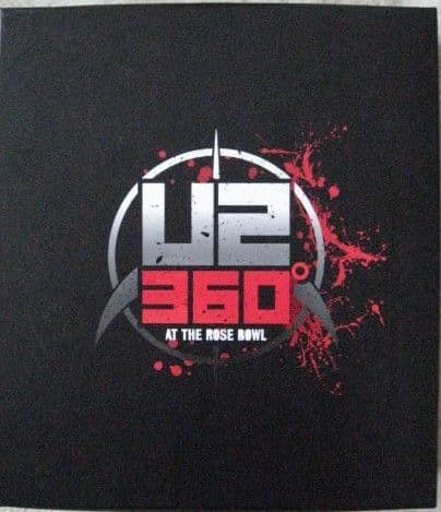 Super Deluxe Boxset U2 360 AT THE ROSE BOWL Near Mint