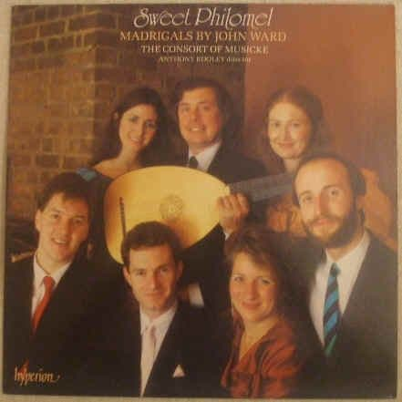 SWEET PHILOMEL Madrigals By John Ward Vinyl LP Double Signed Kirkby Rooley