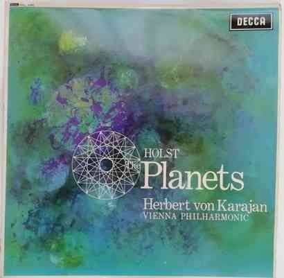 SXL 2305 Holst THE PLANETS Vinyl LP Wideband Grooved Karajan