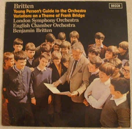 SXL 6450 Britten YOUNG PERSON'S GUIDE TO THE ORCHESTRA Vinyl LP