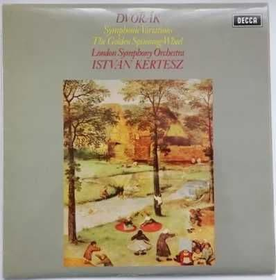 SXL 6510 Dvorak SYMPHONIC VARIATIONS THE GOLDEN SPINNING-WHEEL Vinyl LP Kertesz