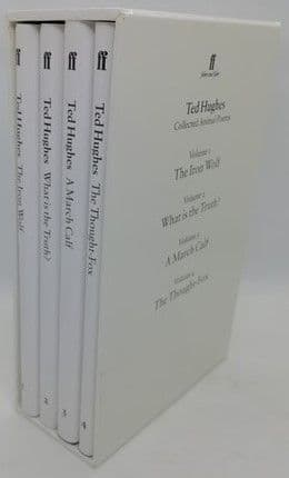 Ted Hughes COLLECTED ANIMAL POEMS Signed Boxset