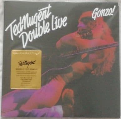 Ted Nugent DOUBLE LIVE GONZO 2LP 180g Numbered Limited Edition Red Vinyl Sealed