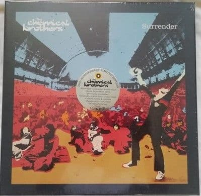 The Chemical Brothers SURRENDER 20th Anniversary Limited Edition Box Set Sealed