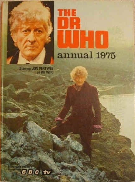 THE DR WHO ANNUAL 1975 Jon Pertwee