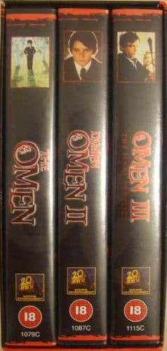 The Omen 3 VHS PAL Video Boxed 20th Anniversary Sealed