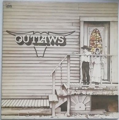 The Outlaws OUTLAWS Vinyl LP 1975