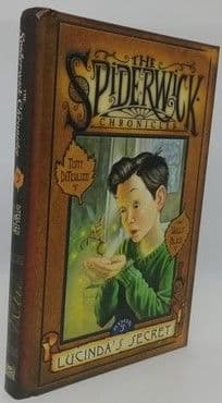 Tony Diterlizzi Holly Black LUCINDA'S SECRET First Edition Double Signed