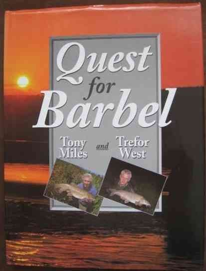 Tony Miles Trefor West QUEST FOR BARBEL Revised Edition Double Signed