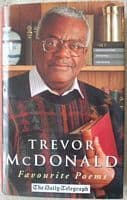 Trevor McDonald FAVOURITE POEMS First Edition Signed