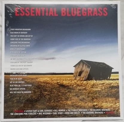Various Artists ESSENTIAL BLUEGRASS 180g Vinyl Sealed