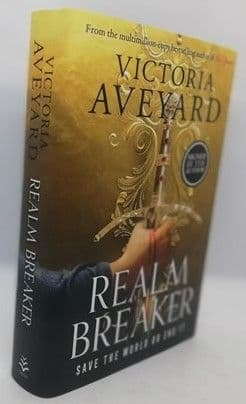 Victoria Aveyard REALM BREAKER First Edition Signed