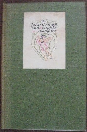 Villiers David THE GUARDSMAN AND CUPIDS DAUGHTER Double Signed Limited Edition 1930