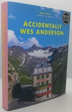 Wally Koval ACCIDENTALLY WES ANDERSON First Edition Signed Bookplate