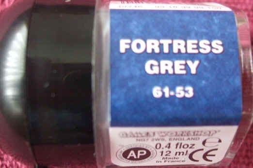 Warhammer FORTRESS GREY Paint New & Unopened