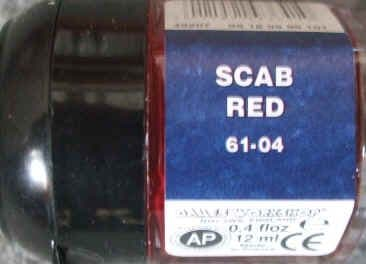 Warhammer SCAB RED Paint New & Unopened