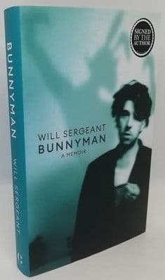 Will Sergeant BUNNYMAN First Edition Signed