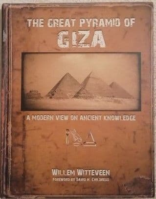 Willem Witteveen THE GREAT PYRAMID OF GIZA First Edition Signed