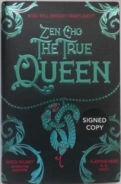 Zen Cho THE TRUE QUEEN Signed Limited Edition