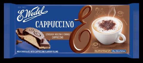 Wedel Milk Chocolate with Cappuccino Filling