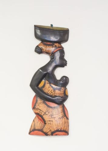 Ethnic Mother - African Wood Carving