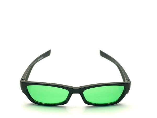 Jade  tinted glasses suitable for age 10 upwards