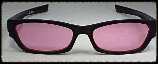 Pink x 2  Glasses suitable for age 10 upwards