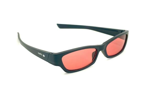 Red tinted glasses suitable for age 10 upwards