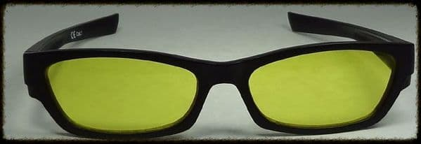 Yellow Glasses suitable for age 10 upwards