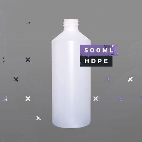 500ml HDPE Bottle