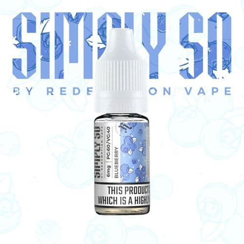 Simply So Blueberry Nic