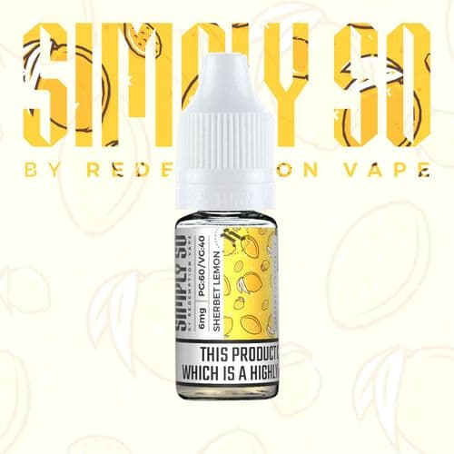 Simply So Sherbet Lemon Nic