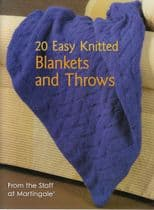 20 Easy Knitted Blankets and Throws MARTINGALE & COMPANY