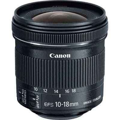 Canon 10 -18mm f4.5-5.6 EF-S IS STM Lens