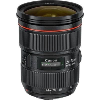 Canon EF 24-70mm f2.8L Mk II USM Lens