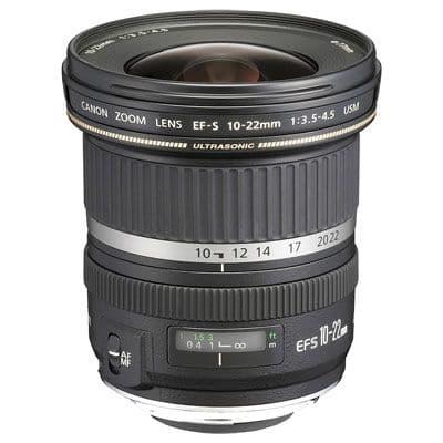 Canon EF-S 10-22mm f3.5-4.5 USM Lens