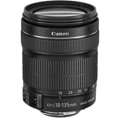 Canon EF-S 18-135mm f3.5-5.6 IS STM Lens