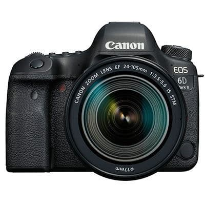 Canon EOS 6D Mark II with 24-105mm f3.5-5.6 IS STM Lens