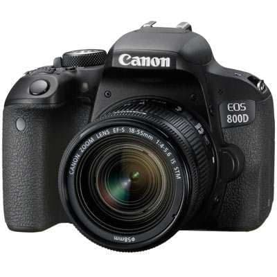 Canon EOS 800D Digital SLR Camera with 18-55mm IS STM Lens