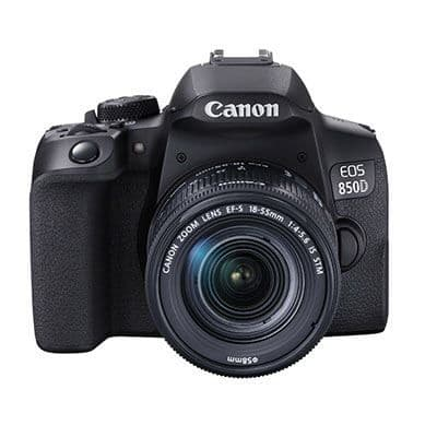 Canon EOS 850D Digital SLR Camera with 18-55mm IS STM Lens