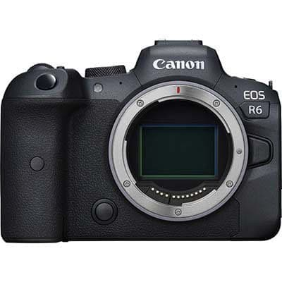 Canon EOS R6 Digital Camera Body