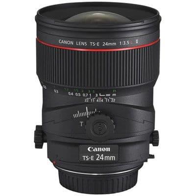 Canon TS-E 24mm f3.5L II Lens
