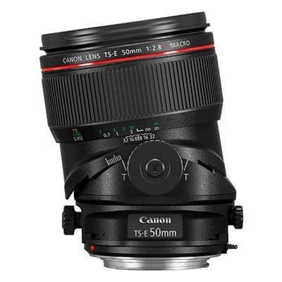 Canon TS-E 50mm F2.8 L Macro Lens