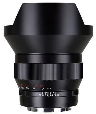 Carl Zeiss  15mm F2.8 Distagon ZE Lens